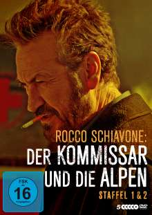 Rocco Schiavone Staffel 1 & 2, 5 DVDs