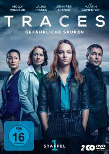 Traces - Gefähliche Spuren Staffel 1, 2 DVDs