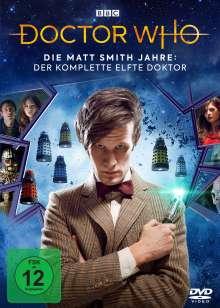 Doctor Who - Die Matt Smith Jahre: Der komplette 11. Doktor, 21 DVDs