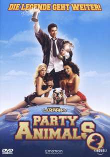 Party Animals 2, DVD