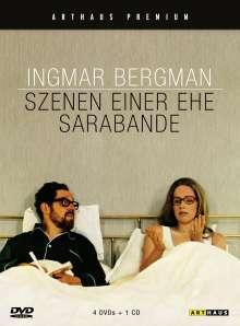 Szenen einer Ehe (Special Edition) + Sarabande, 4 DVDs und 1 CD