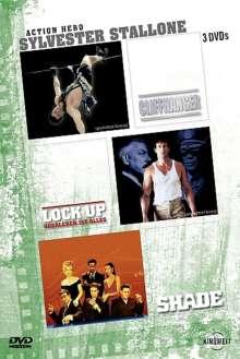Sylvester Stallone Editon, 3 DVDs