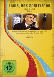 Louis de Funes: Das Schlitzohr (Scharfe Sachen für Monsieur), DVD