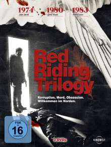 Red Riding Trilogy, 3 DVDs