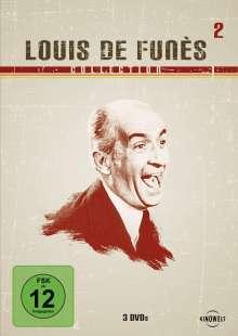 Louis de Funes Collection 2, 3 DVDs