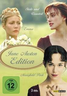 Jane Austen Edition, 3 DVDs
