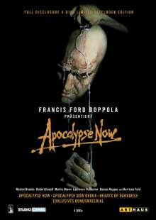 Apocalypse Now - Full Disclosure (Steelbook), 4 DVDs