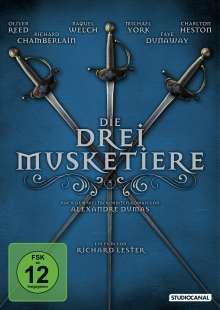 Die drei Musketiere (1973), DVD