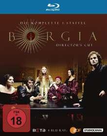 Borgia Staffel 1 (Director's Cut) (Blu-ray), 3 Blu-ray Discs