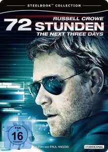 72 Stunden - The Next Three Days (Steelbook), DVD