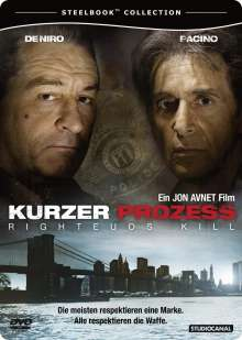 Kurzer Prozess - Righteous Kill (Steelbook), DVD