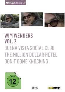 Wim Wenders Arthaus Close-Up Vol.2, 3 DVDs