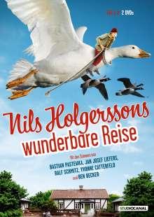 Nils Holgerssons wunderbare Reise, 2 DVDs