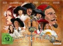 Die drei Musketiere + Die vier Musketiere, 2 DVDs