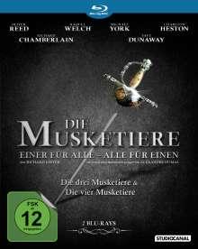 Die drei Musketiere + Die vier Musketiere (Blu-ray), 2 Blu-ray Discs