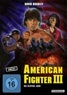 American Fighter III, DVD