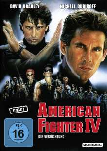 American Fighter IV, DVD