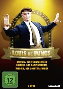 Louis de Funès - Balduin Collection, 3 DVDs