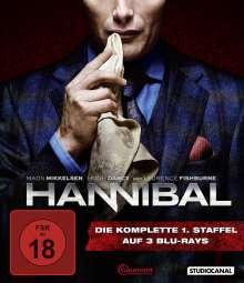 Hannibal Staffel 1 (Blu-ray), 3 Blu-ray Discs