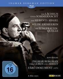 Ingmar Bergman Edition 1 (Blu-ray), 4 Blu-ray Discs