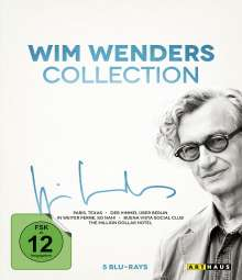 Wim Wenders Collection (Blu-ray), 5 Blu-ray Discs
