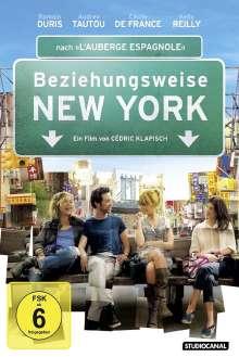 Beziehungsweise New York, DVD