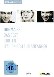 Dogma 95 Arthaus Close-Up, 3 DVDs