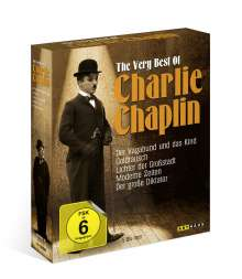 The Very Best of Charlie Chaplin (Blu-ray), 5 Blu-ray Discs