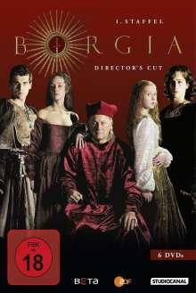 Borgia Staffel 1 (Director's Cut), 6 DVDs