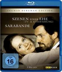 Szenen einer Ehe / Sarabande (Blu-ray), 3 Blu-ray Discs