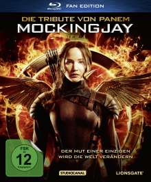 Die Tribute von Panem - Mockingjay Teil 1 (Fan Edition im Digipack) (Blu-ray), Blu-ray Disc