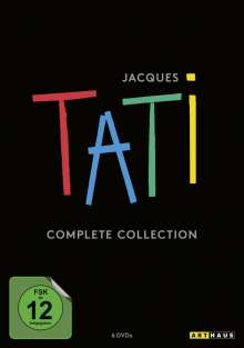 Jacques Tati Complete Collection, 6 DVDs
