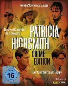 Patricia Highsmith: Crime Edition (Blu-ray), 3 Blu-ray Discs