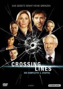Crossing Lines Staffel 3, 4 DVDs
