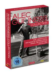 Alec Guinness Collection, 4 DVDs