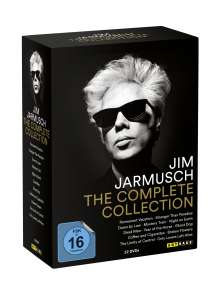 Jim Jarmusch - The Complete Movie Collection, 12 DVDs