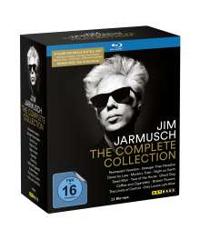 Jim Jarmusch - The Complete Movie Collection (Blu-ray), 11 Blu-ray Discs und 1 DVD