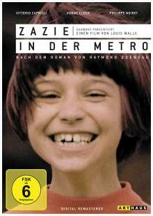 Zazie in der Metro, DVD