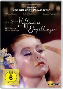 Hoffmanns Erzählungen, DVD