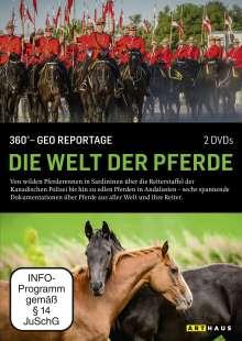360° Geo-Reportage: Die Welt der Pferde, DVD