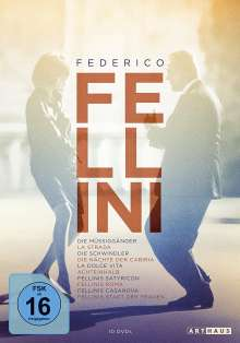 Federico Fellini Edition, 10 DVDs