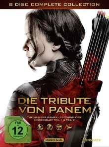 Die Tribute von Panem (Complete Collection), 8 DVDs