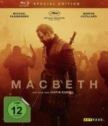 Macbeth (2015) (Special Edition) (Blu-ray), Blu-ray Disc