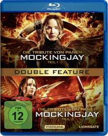 Die Tribute von Panem - Mockingjay Teil 1 & 2 (Blu-ray), 2 Blu-ray Discs