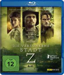 Die versunkene Stadt Z (Blu-ray), Blu-ray Disc