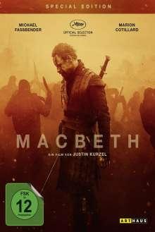 Macbeth (2015) (Special Edition), DVD