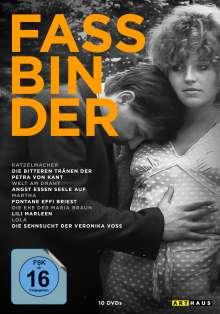Best of Rainer Werner Fassbinder, 10 DVDs