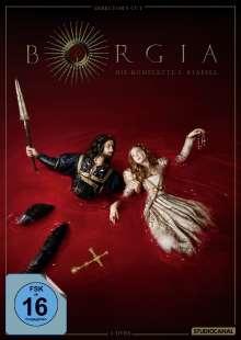 Borgia Staffel 3 (finale Staffel) (Director's Cut), 5 DVDs