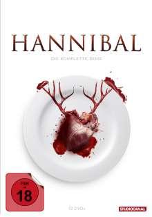 Hannibal (Komplette Serie), 12 DVDs