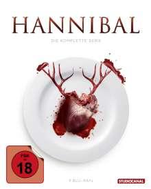 Hannibal (Komplette Serie) (Blu-ray), 9 Blu-ray Discs